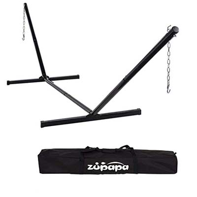 10. Zupapa Hammock Stand Fit for 12-15ft