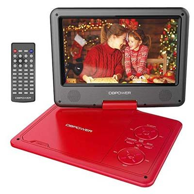 2. DBPOWER 9.5-Inch Portable DVD Player