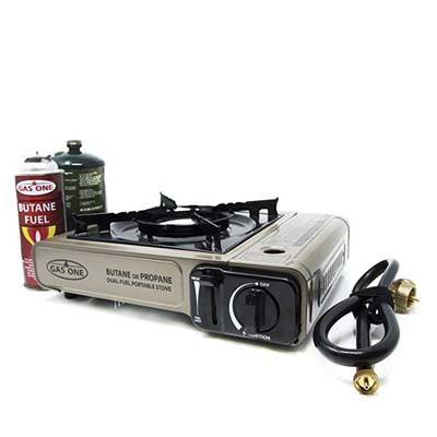 5. Gas ONE Dual Fuel Portable Gas Stove Burner, GS-3400P