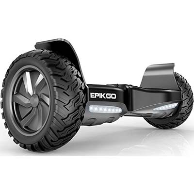 2. EPIKGO Self Balancing Hover Board [Classic Series, Space Grey]