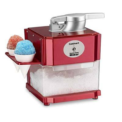 6. Cuisinart Snow Cone Maker (SCM-10) - Red