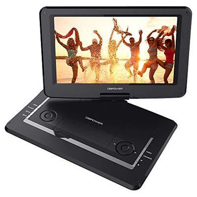 "5. DBPOWER 14"" Portable DVD Player"