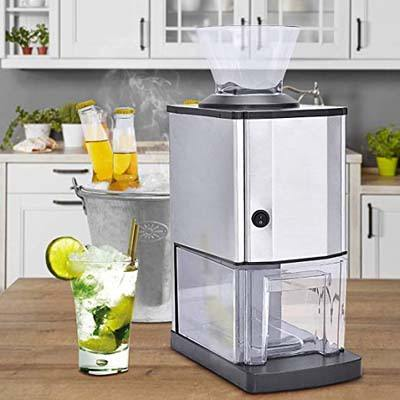 9. Costzon Electric Ice Crusher for Party, Gathering, Home