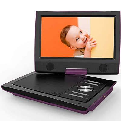 "9. ieGeek 11"" Portable DVD Player"