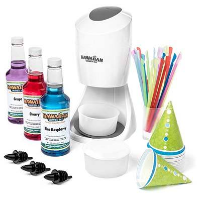 3. Hawaiian Shaved Ice Machine and Syrup Party Package