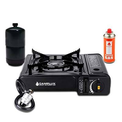 10. Camplux Dual Fuel Portable Gas Stove
