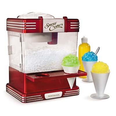7. Nostalgia Retro Snow Cone Maker (RSM602)