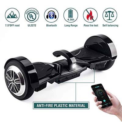 "5. Koowheel 7.5"" All Terrain Hoverboard"