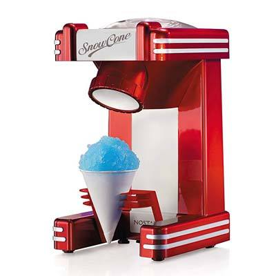 8. Nostalgia Retro Single Snow Cone Maker (RSM702)