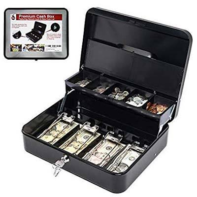 8. Baya Cash Box with Secure Key Lock