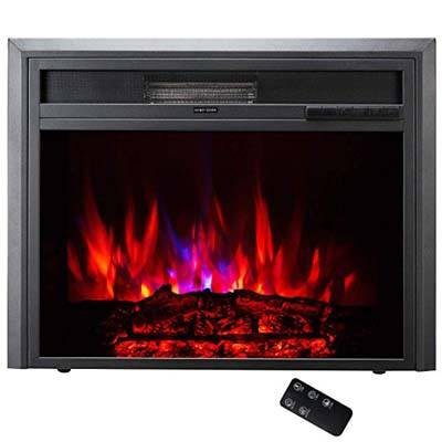 10. TAGI 23-Inch Electric Fireplace Insert