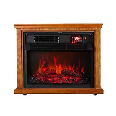 8. Koolwoom Infrared Electric Fireplace