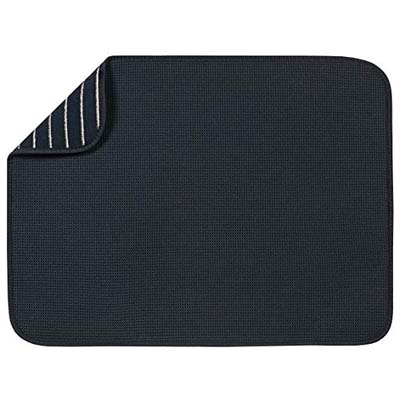 "1. S&T XL 18"" x 24"" Microfiber Dish Drying Mat"