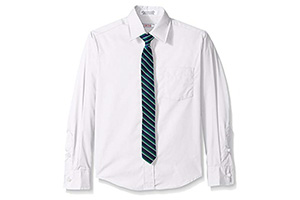 Best Boys White Dress Shirt