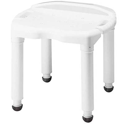 2. Carex Bath Seat and Shower Chair - Universal