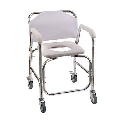 7. Duro-Med DMI Shower Transport Chair