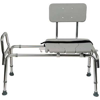 4. Duro-Med Tub Transfer Bench and Sliding Shower Chair