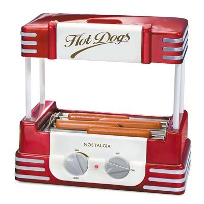 2. Nostalgia Hot Dog Roller & Bun Warmer (RHD800)