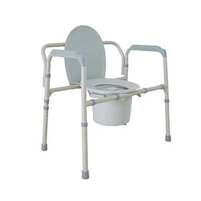 8. Drive Medical Bariatric Folding Commode
