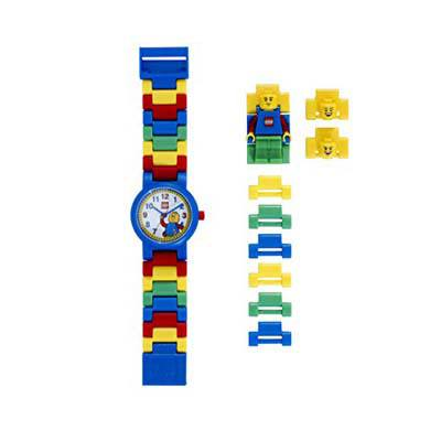 8. LEGO Quartz Plastic Watch Color Multicolor (Model 8020189)
