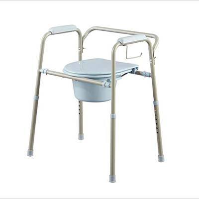 9. Medline MDS89664KDMB 3-in-1 Bedside Commode