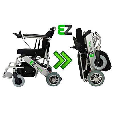 2. EZ Lite Cruiser Light Weight Folding Wheelchair