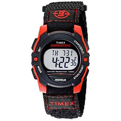 2. Timex Unisex Digital Mid-Size Watch