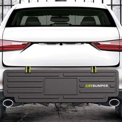 10. CityBumper Extra Wide Rear Bumper Guard