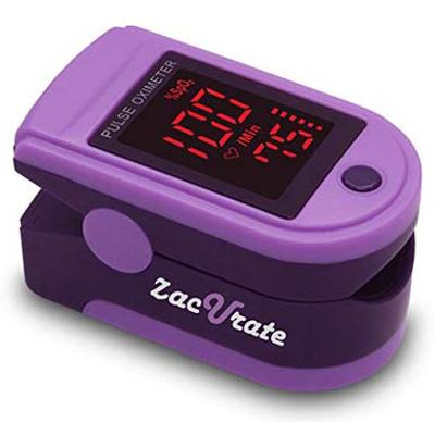2. Zacurate Fingertip Pulse Oximeter - Pro Series 500DL