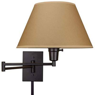 "2. Kira Home Cambridge 13"" Swing Arm Wall Lamp"
