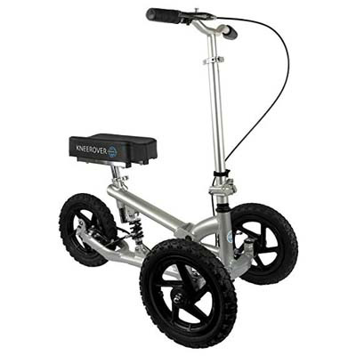 9. KneeRover PRO All Terrain Knee Walker with Shock Absorber