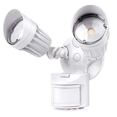 2. Hyperikon LED Outdoor Flood Light with Motion Sensor