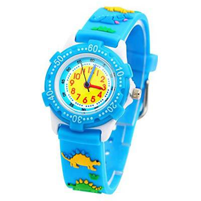 9. Tonnier 3D Kids Rubber Band Children Watches