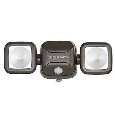 4. Mr. Beams MB3000 Led Dual Head Security Spotlight