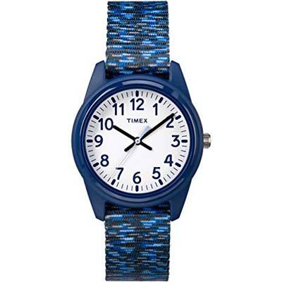 10. Timex Boys Time Machines Nylon Strap Watch