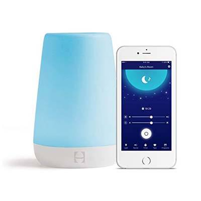 1. Hatch Baby Rest Sound Machine, Night Light and Time-to-Rise