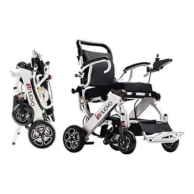 3. Innuovo N5513A foldable Electric Wheelchair
