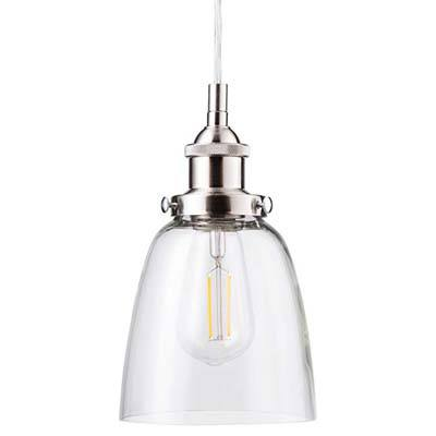 7. Fiorentino LED Brushed Nickel Pendant Light (LL-P281-LED-BN)