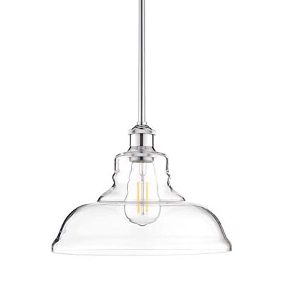 6. Lucera LED Kitchen Pendant Light (LL-P431-LED-PC)