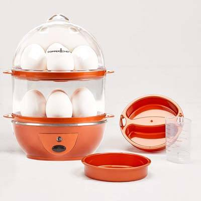 10. Copper Chef Electric Cooker Set – 7 or 14