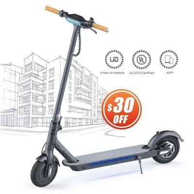 9. TOMOLOO Electric Scooter for Adults