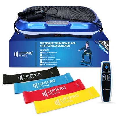 8. LifePro Power Plate Exercise Machine