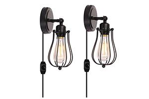 Best Bedroom Wall Lamps Plug In