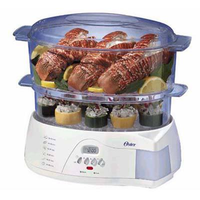 3. Oster 5712 Electronic 2-Tier Food Steamer