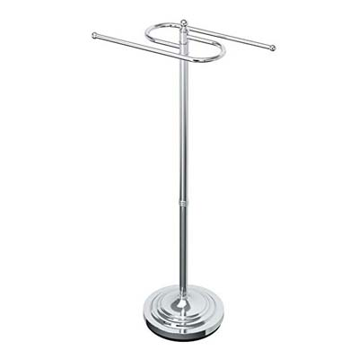 1. Gatco 1505 Floor Standing S Style Towel Holder