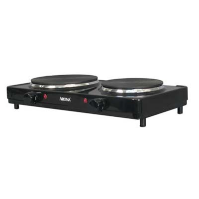 1. Aroma Housewares AHP-312 Double Hot Plate