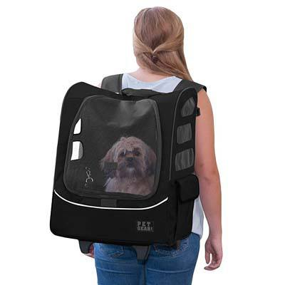 1. Pet Gear I-GO2 Roller Backpack