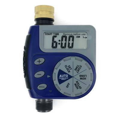 7. Orbit Single Valve Digital Watering Hose Timer