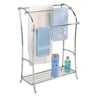 10. InterDesign York Metal Towel Drying Rack