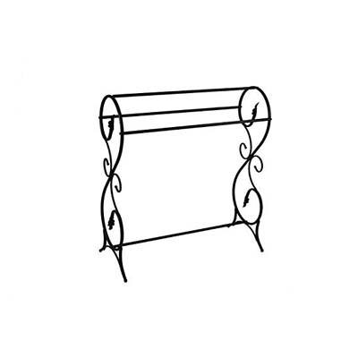 3. King's Brand Antique Style Towel Rack Stand